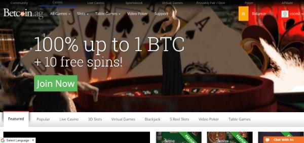 Cryptocurrency Casino