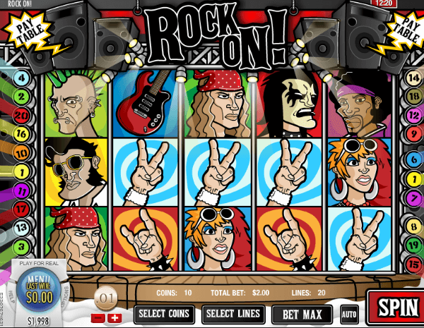 Rock On! Slot