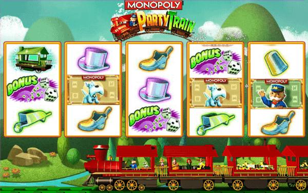 Party Train Slot Bonus