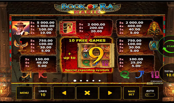book of ra slot game review