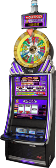Monopoly Luxury Diamonds Slot Machine Cabinet