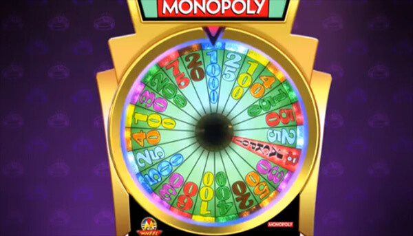 Monopoly Luxury Diamonds Slot Wheel