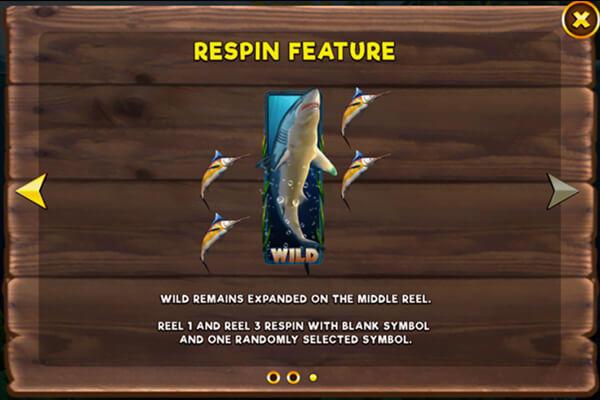 Scuba Fishing Slot Spins