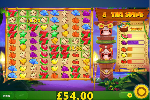 Tiki Fruits Slot Machine