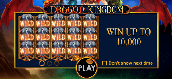 Dragon Kingdom Slot Max Jackpot