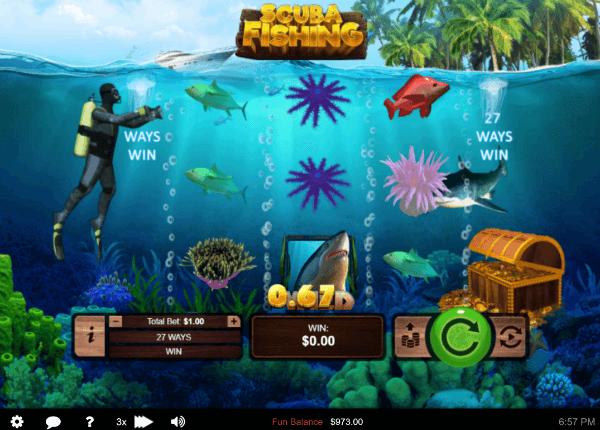 Scuba Fishing Slot
