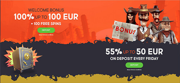 GunsBet Bonuses Codes
