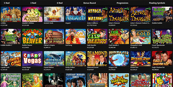 Red Dog Casino Software and Games