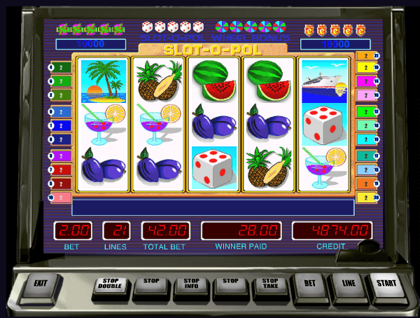 Slot O Pool Slot Machine