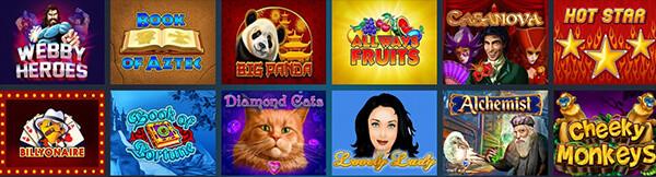 WebbySlot Casino Software and Games