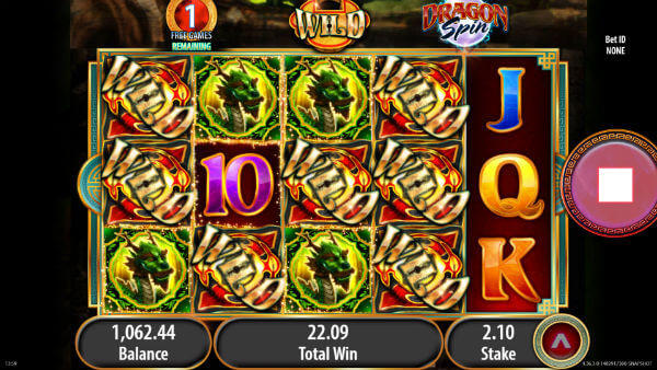 Dragon Spin Free Spins