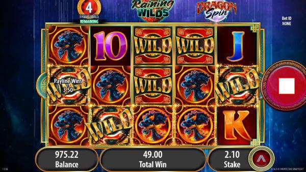 Dragon Spin Slot Bonus Features