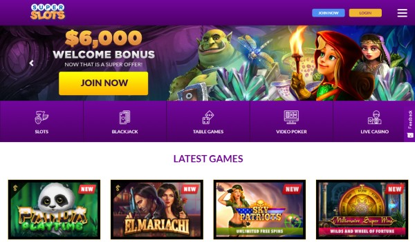 Super Slots Casino Bonus Codes